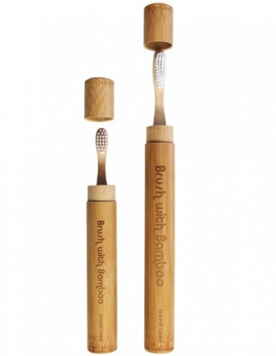 Brush With Bamboo Travel Cases